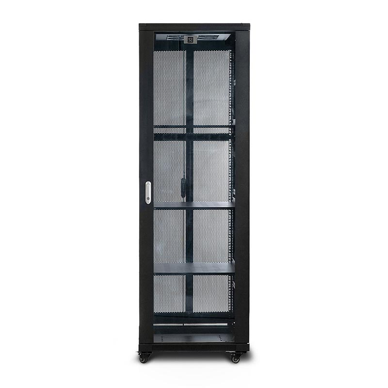 Pre Assembled Kitchen Cabinets Online: Serveredge 37RU 600mm Wide & 600mm Deep Fully Assembled