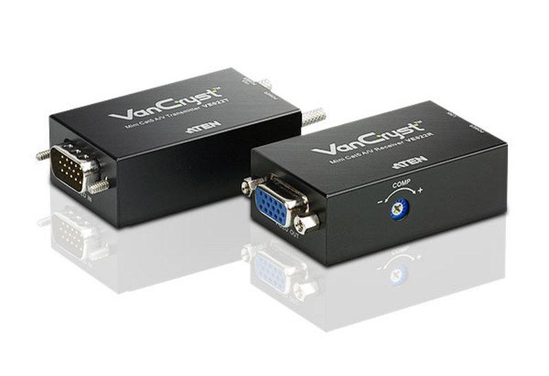 VGA Extender Over CAT5e / CAT6