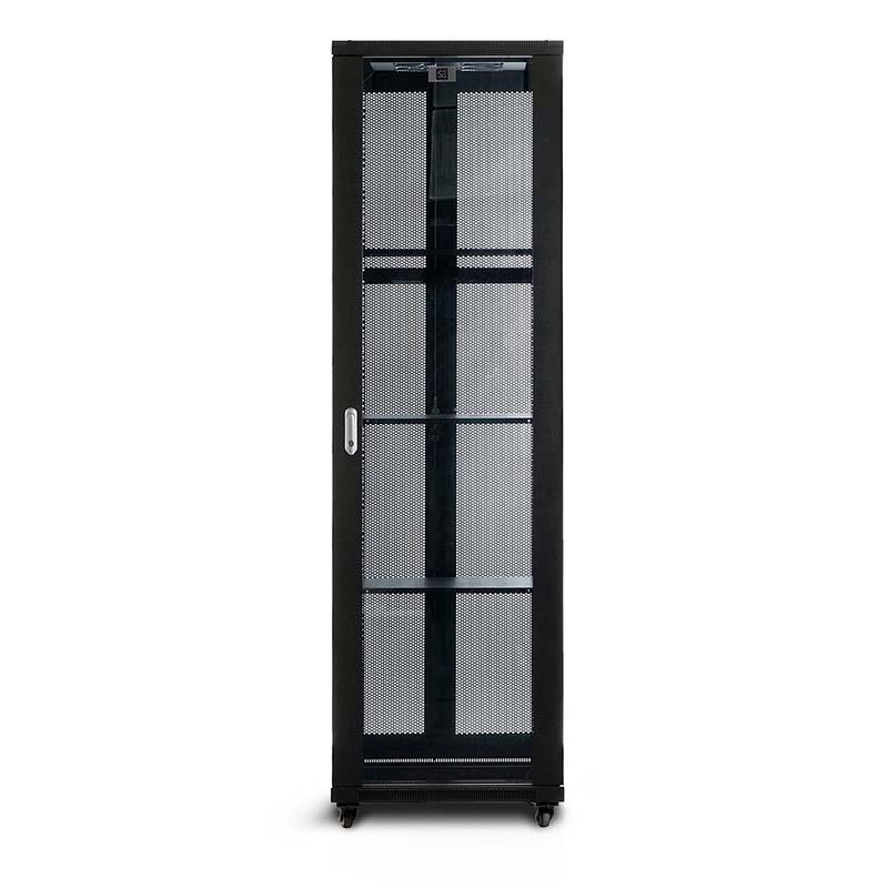 Pre Assembled Kitchen Cabinets Online: Serveredge 42RU 600mm Wide & 1000mm Deep Fully Assembled